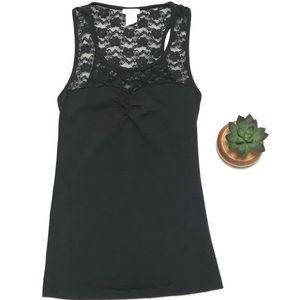 360797962c8fa8 Women's Black Lace Tops | Poshmark